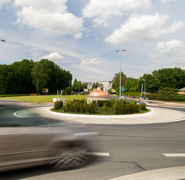 Stadt, Straße, Verkehr